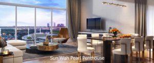 Căn hộ Sun Wah Pearl Penthouse