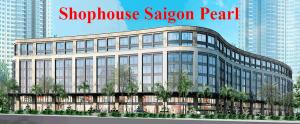 Shophouse Saigon Pearl bán
