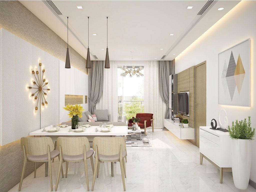 Phòng khách Sunwah Pearl