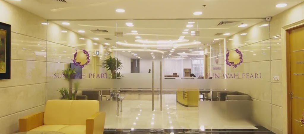Phòng kinh doanh dự án Sunwah Pearl