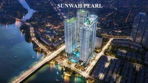 Mặt bằng chung cư Sunwah Pearl bán