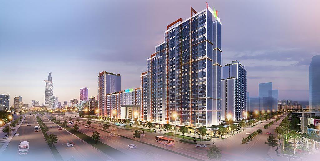 Phối cảnh dự án New City Thủ Thiêm Quận 2