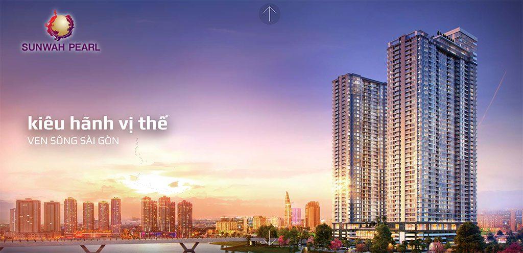 Hình phối cảnh Sunwah Pearl Saigon