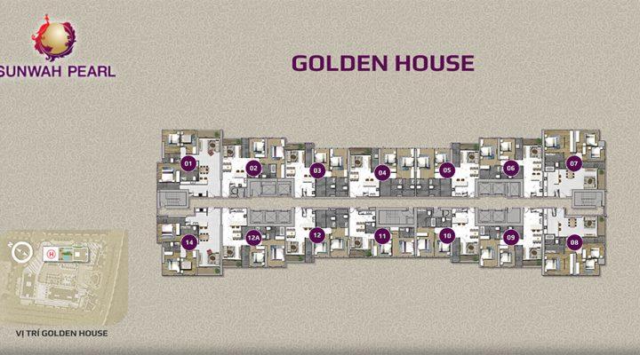 Giá bán căn hộ Sunwah Pearl Golden House