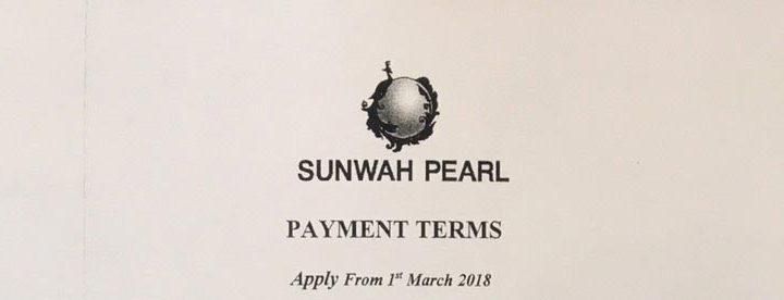 Tiến độ thanh toán căn hộ Sunwah Pearl tháng 03-2018