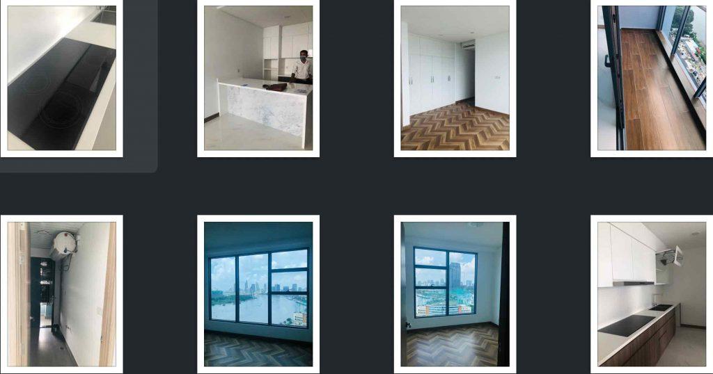 Một vài hình ảnh thực tế bên trong căn hộ Sunwah Pearl