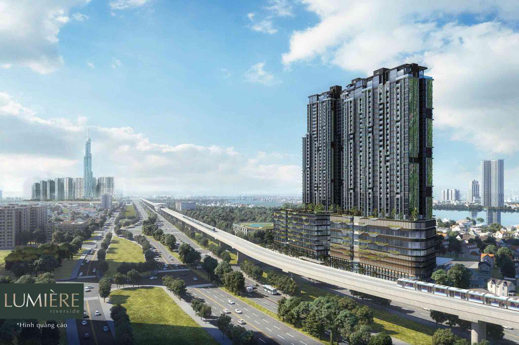 Hình ảnh quảng cáo dự án căn hộ Lumiere Riverside