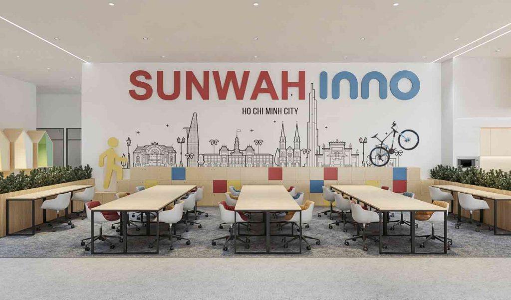 Văn phòng làm việc tại Sunwah Innovation Center