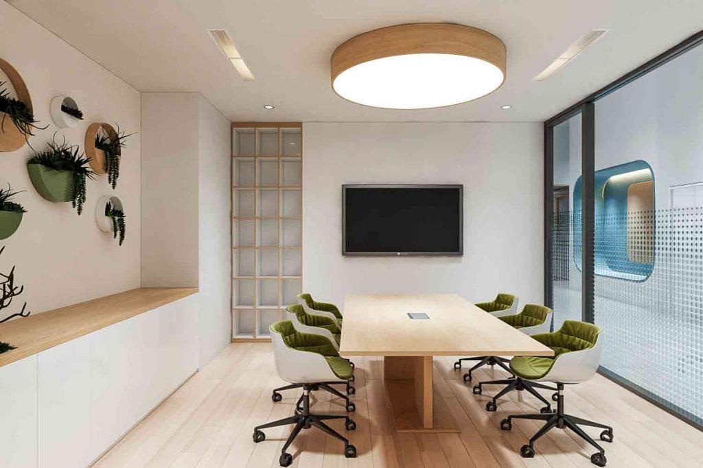 Phòng họp hội thảo tại Sunwah Innovation Center luôn sẵn sàng và phục vụ tất cả các khách hàng