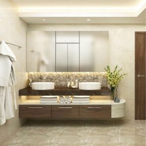 Phòng tắm căn hộ Sunwah Pearl