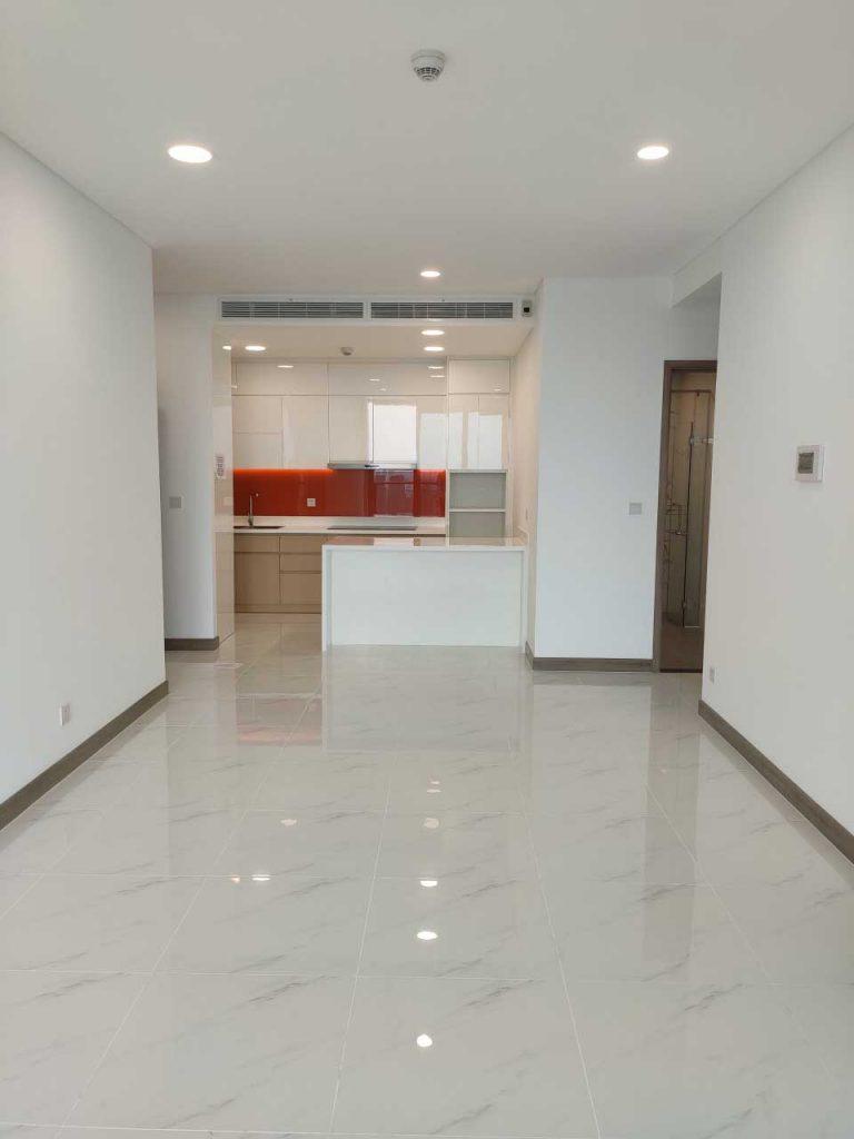 Cho thuê căn hộ Sunwah Pearl 2PN nhà trống và đầy đủ nội thất